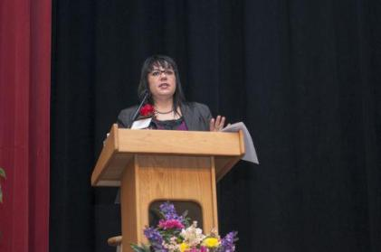 Dr. Traci Morris, Owner of Homahota Consulting was a Keynote Speaker at the 2013 Chickasaw Nation Dynamic Women Conference and Forum