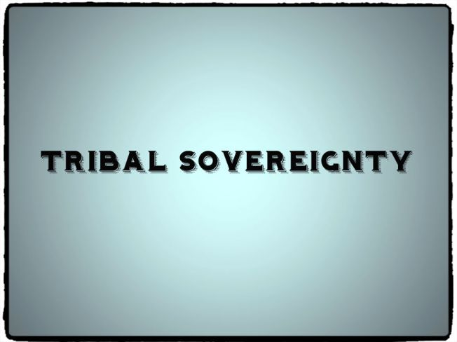 Tribal Sovereignty Definition