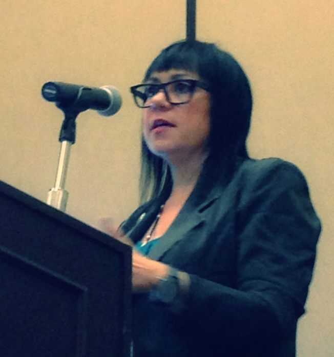 Dr. Traci Morris Presenting at the Tribal Telecom Conference 2014.