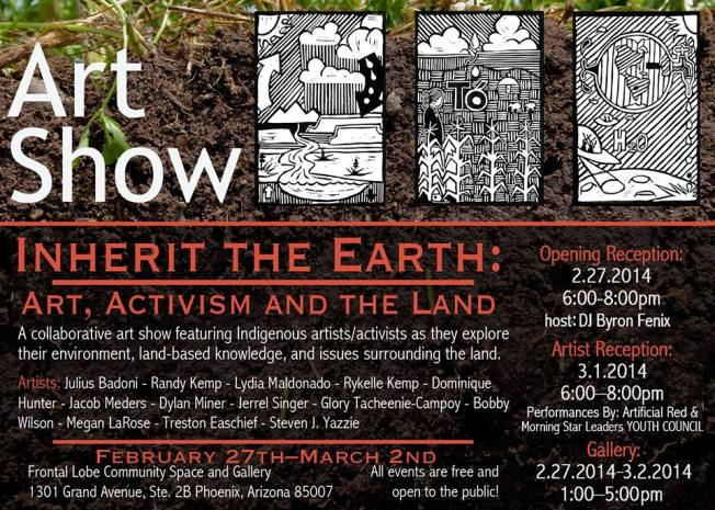 Inherit the earth Native american art show